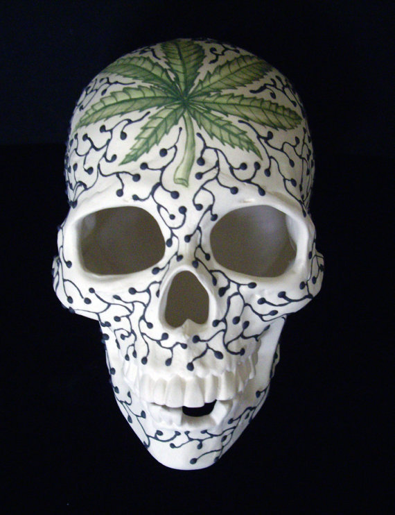 skull ceramic 1
