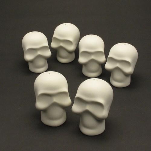 skull ceramic unpainted
