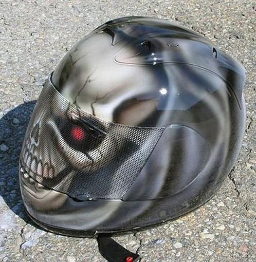 skull design helmets 5