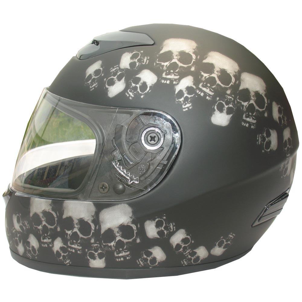 skull design motorcycle helmets 10