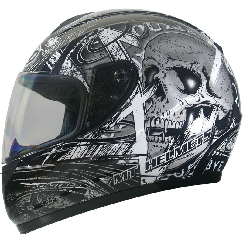 skull design motorcycle helmets 7