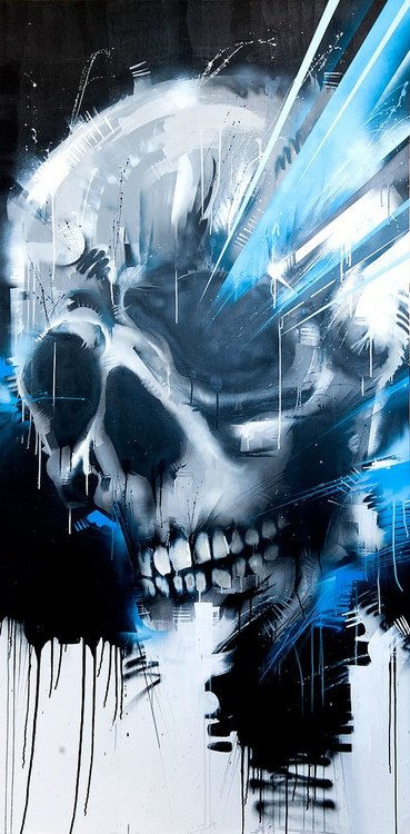 skull graffiti 2