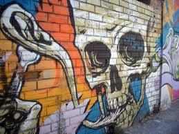 skull graffiti 4