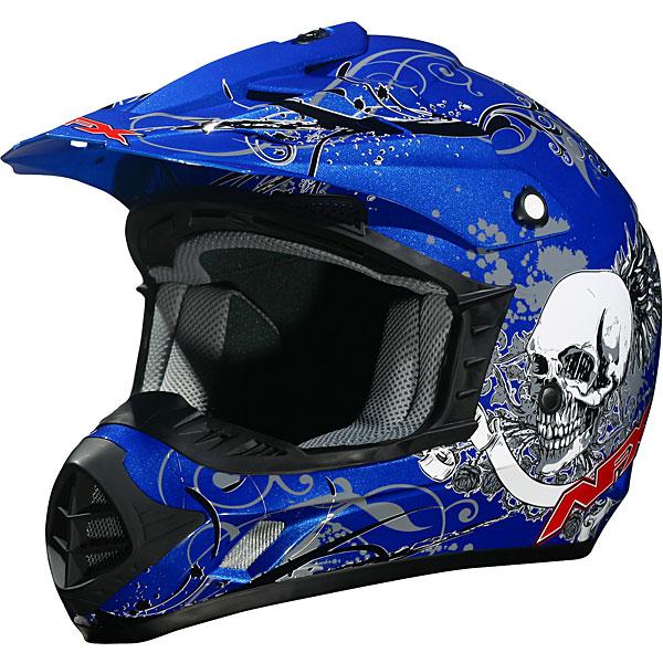 Skull Design Motorcycle Helmets