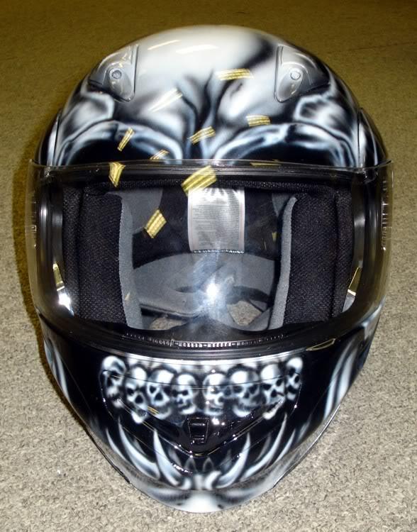 skull motorcycle helmets 3