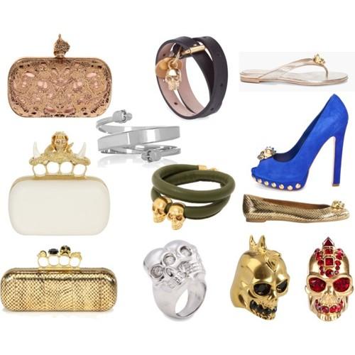 Alexander Mcqueen skull collection 1