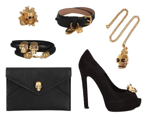 Alexander Mcqueen skull collection 2