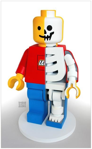 Anatomical Lego© Men 1