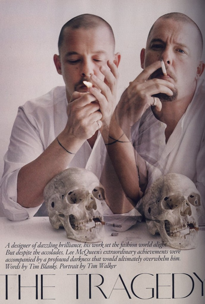 British Vogue The Tragedy of McQueen