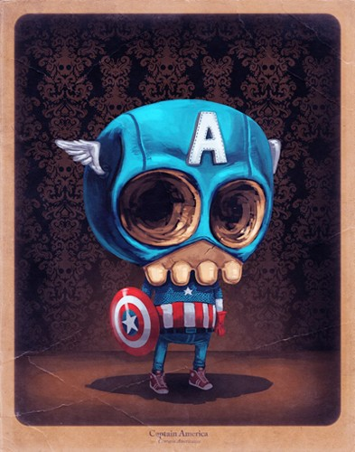 Captain America by Mike Mitchell