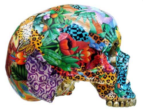 Collage Skulls