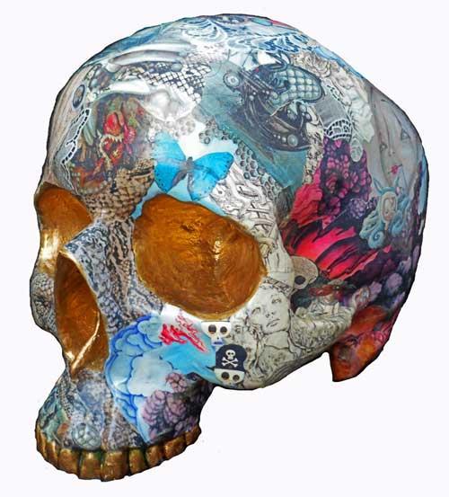 collage skulls 2