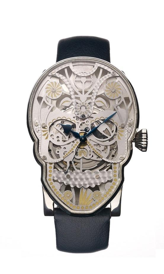 Memento Mori hand made mechanical watch 1
