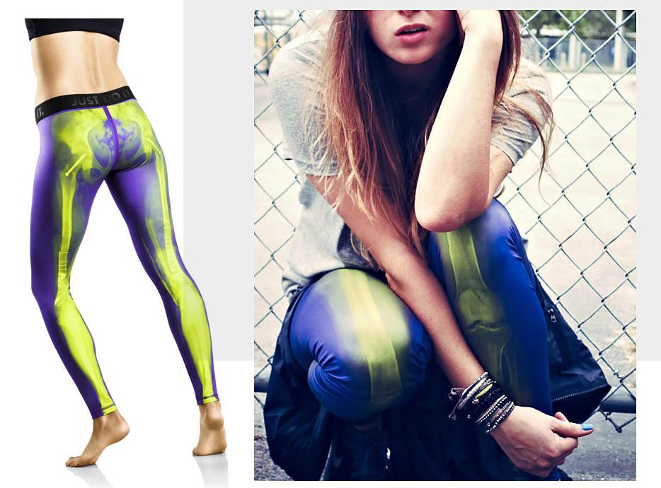 Nike Skeleton Tights 1