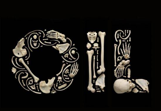 Oil Bone sculpture Francois Robert