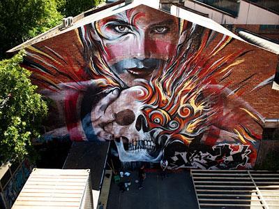 Rone Meggs Mural