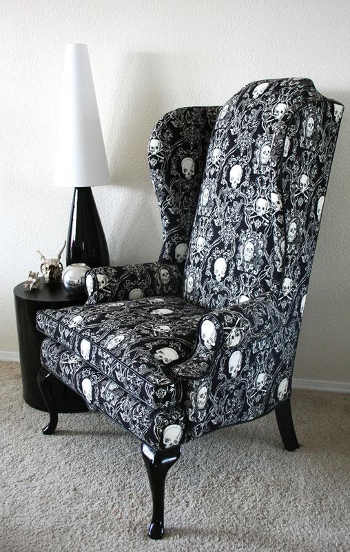 ... Skull Chair Full Angle ...