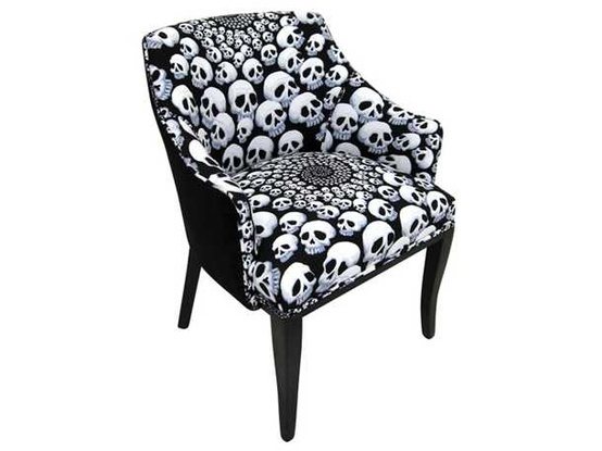Skull Chair Upholstered