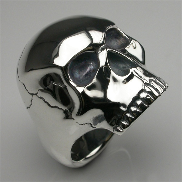 Permalink to Stephen Einhorn Skull Ring
