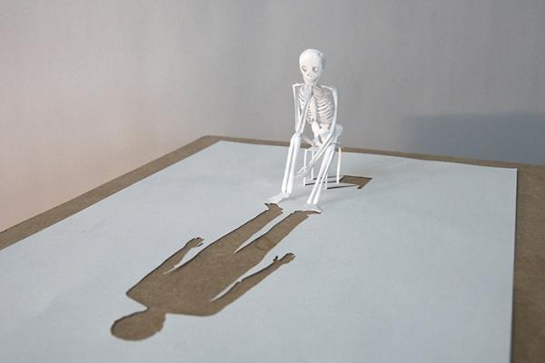 Skull Paper Sculptures by Peter Callesen 1