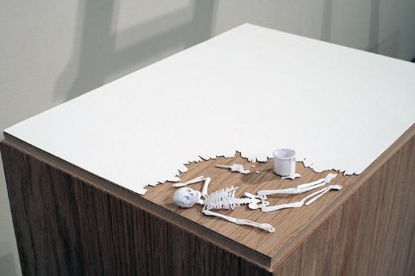 Skull Paper Sculptures by Peter Callesen 2