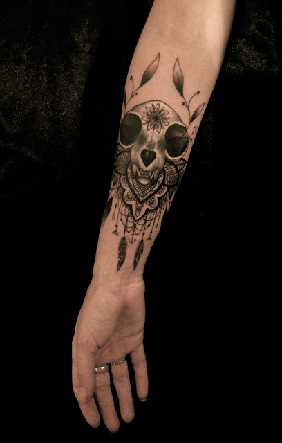 Skull Tattoos by Dodie 1