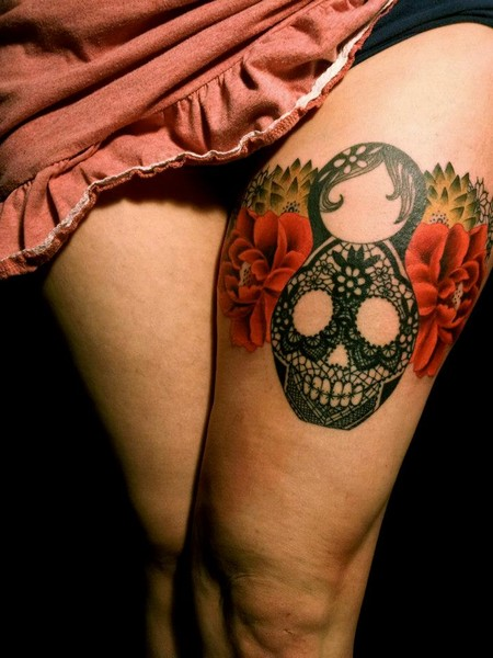 Skull Tattoos by Dodie 3