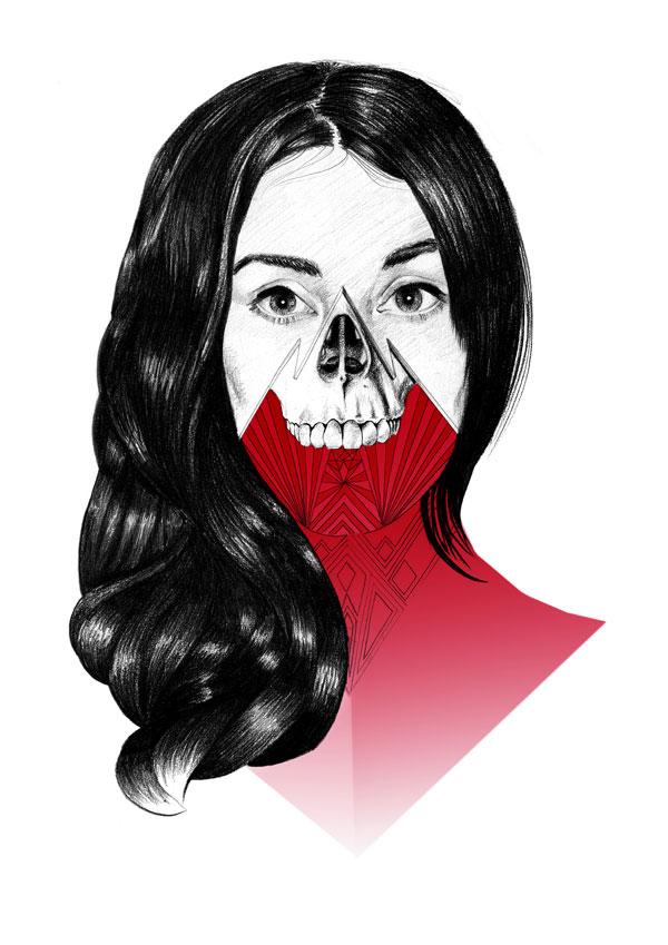 Skull by Mr Four Fingers 1