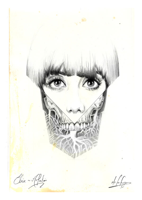 Skull by Mr Four Fingers
