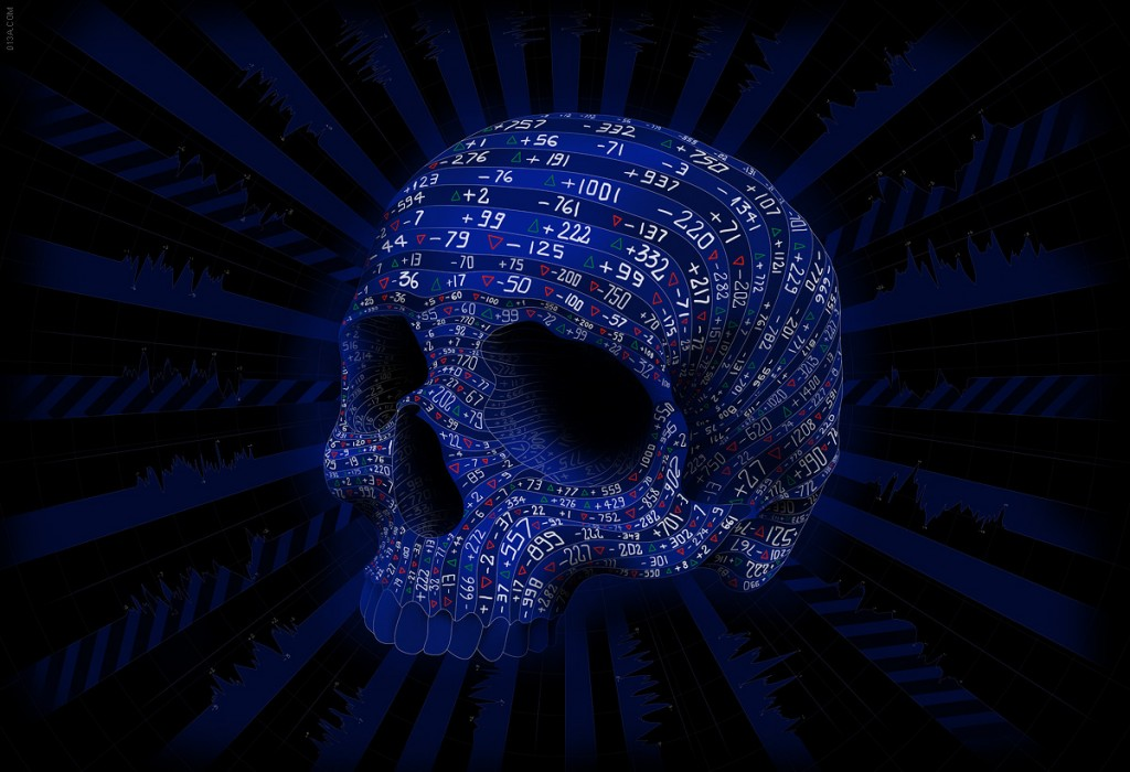 Skull illustrations by Matei Apostolescu 1