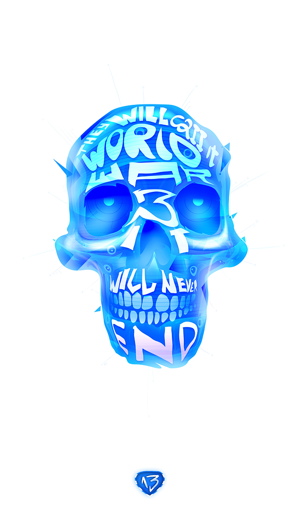 Skull illustrations by Matei Apostolescu 2