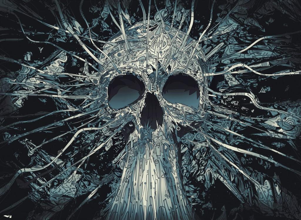 Skull illustrations by Matei Apostolescu 3