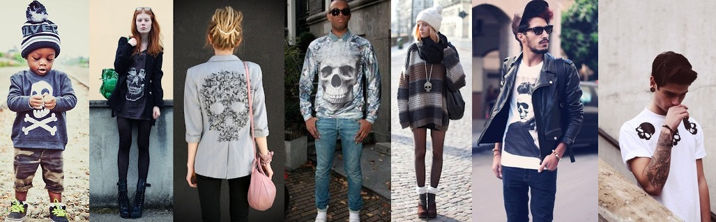 Skull in Fashion