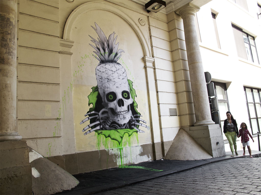 Street art by Ludo 1