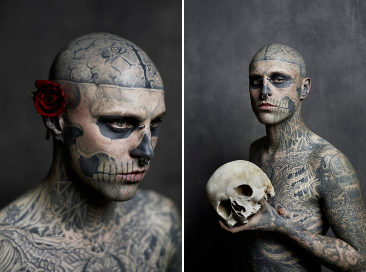 Zombie Boy for Rebel Ink Magazine 1