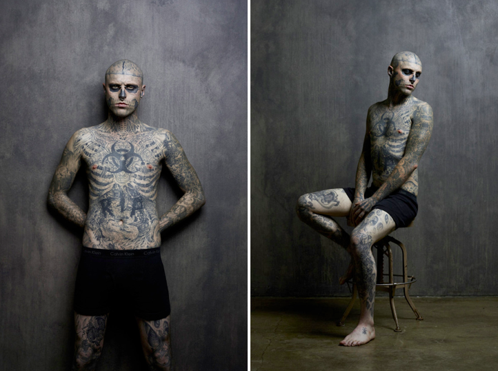 Zombie Boy for Rebel Ink Magazine 2