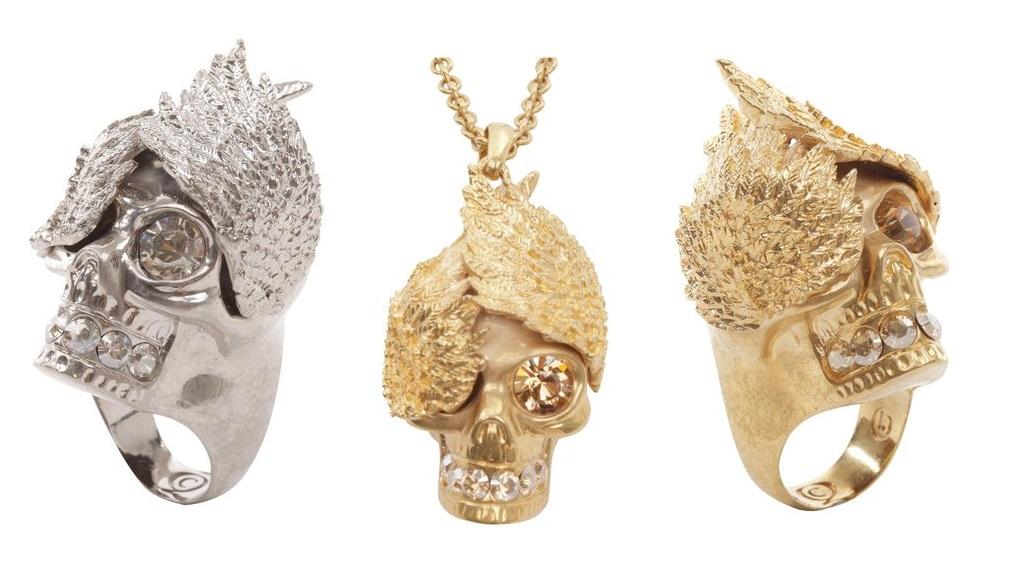 alexander mcqueen 2013 skull rings 1