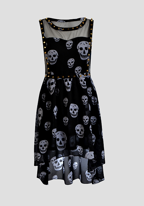 20 dresses with skulls