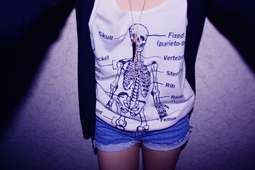 clothing with skull design 2