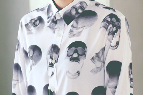 clothing with skulls