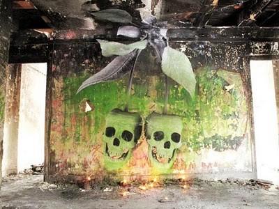 graffiti by ludo