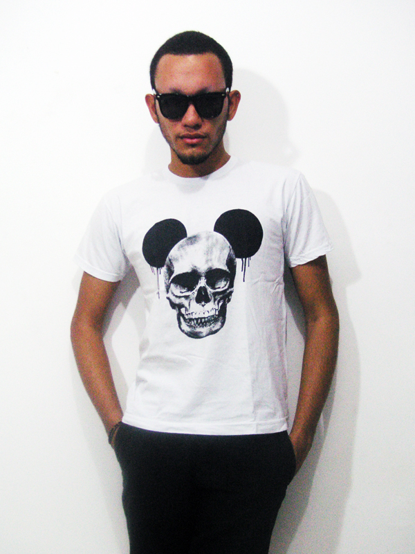 mickey mouse skull shirts 2