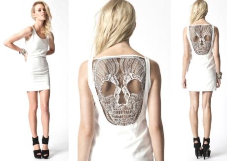 premonition skull dress