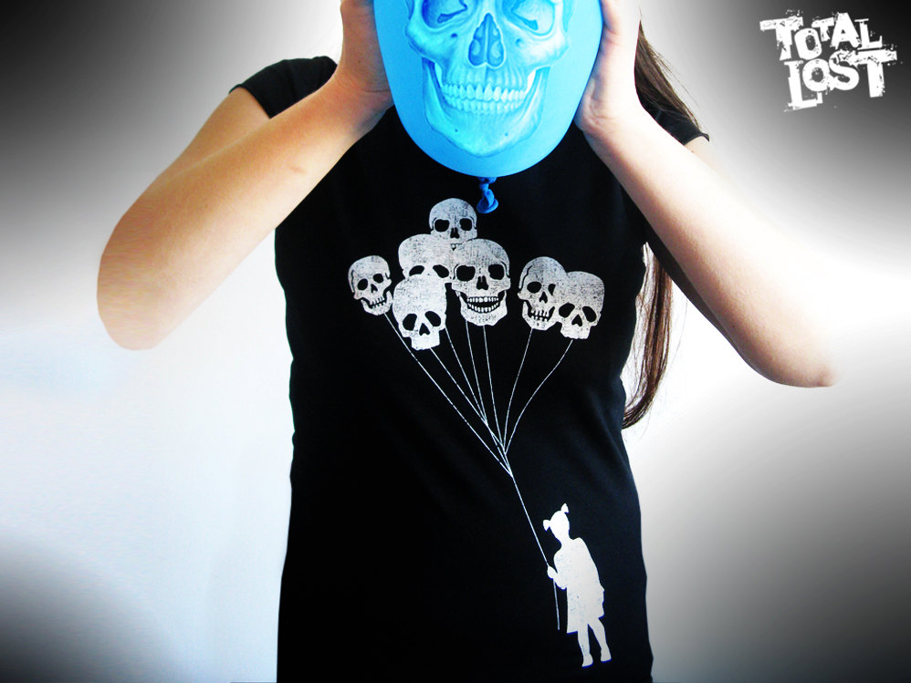 skull balloon designs