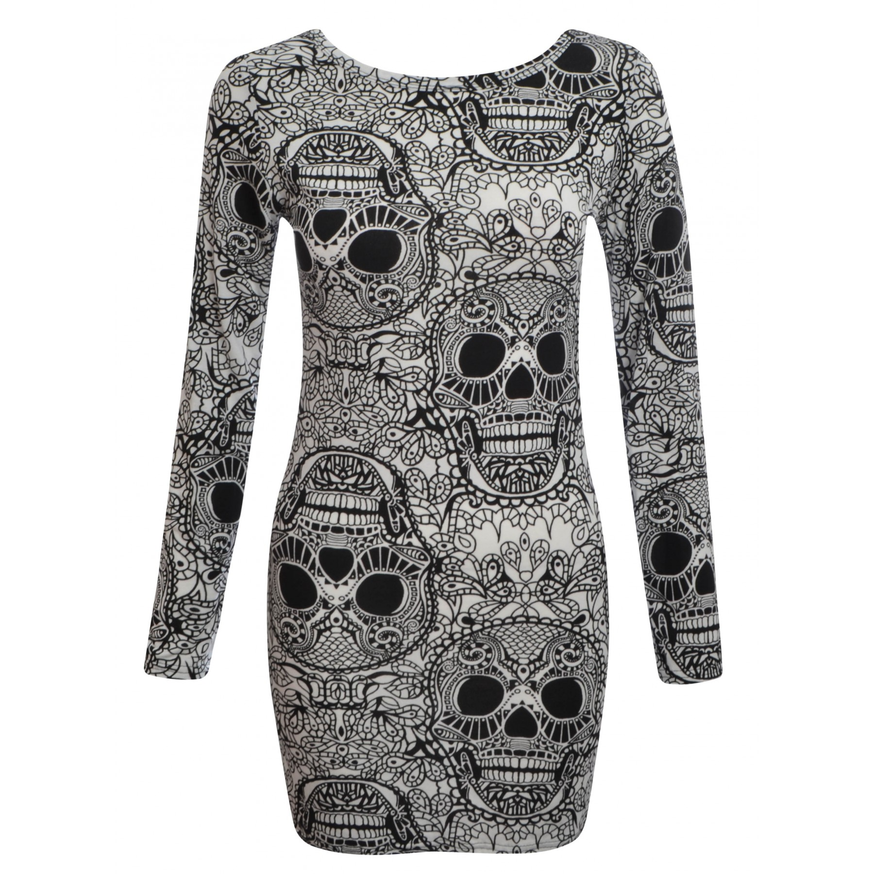 skull dress 1