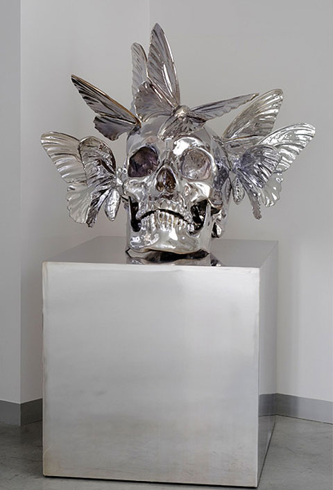 skull sculptures by Philippe Pasqua 3