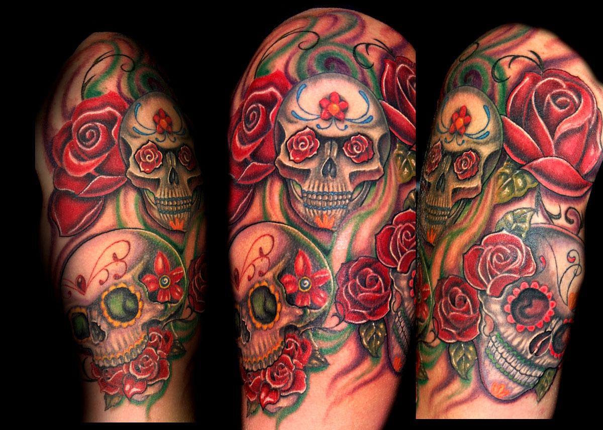 Image result for Best Skull Tattoos For Men