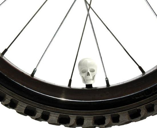 Bike skull Caps