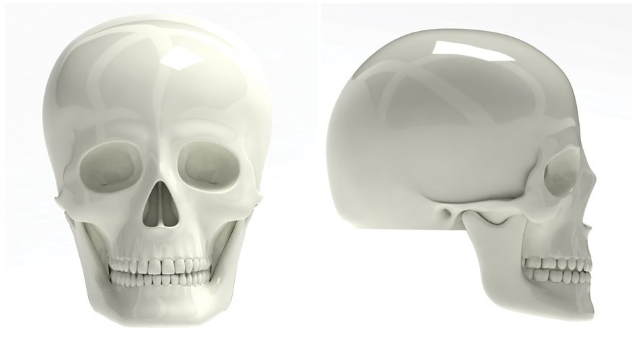 Bike skull Caps 1