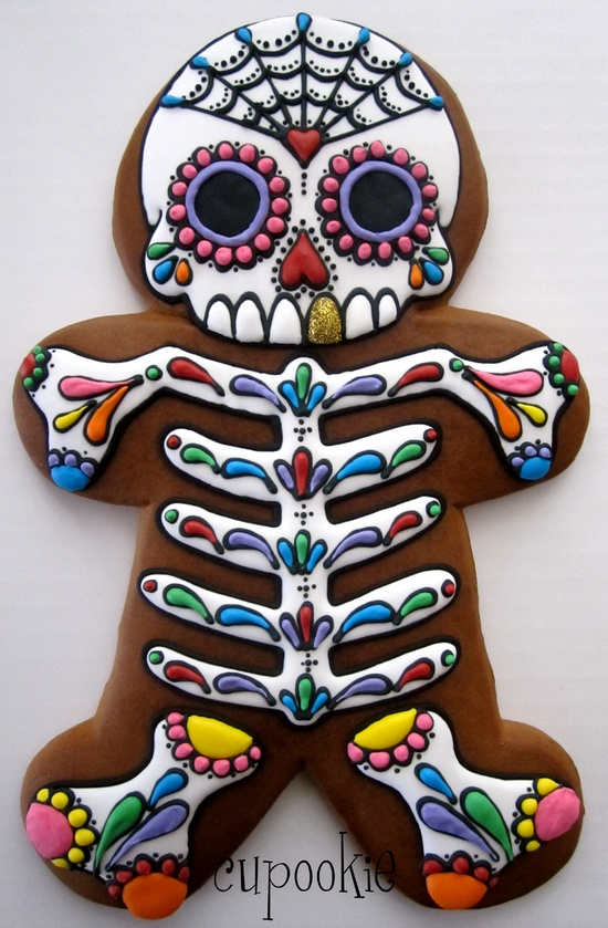 Day of the Dead Gingerbread man
